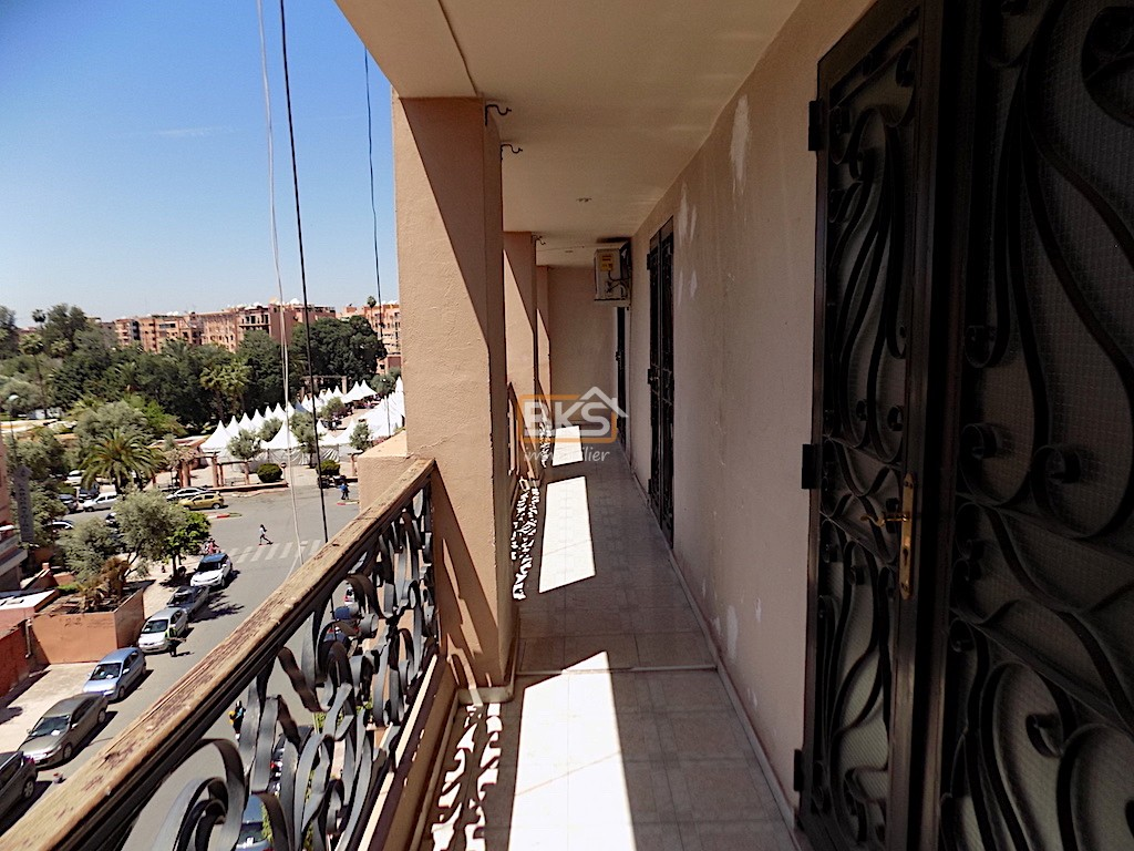 Location <strong>Appartement</strong> Marrakech gueliz <strong>120 m2</strong>