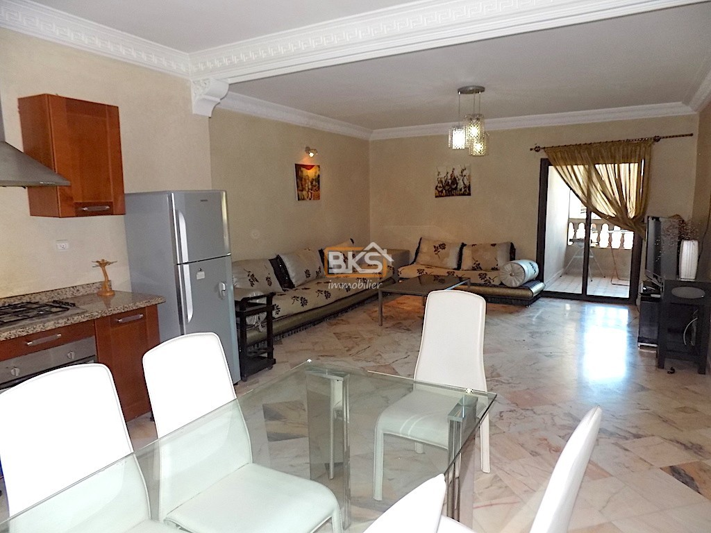 Location <strong>Appartement</strong> Marrakech gueliz <strong>68 m2</strong>