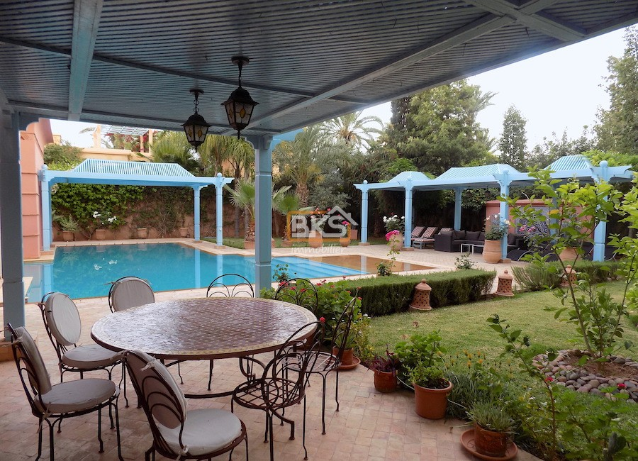 Villa à louer Marrakech Route de Ouarzazate
